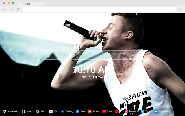 Macklemore New Tabs HD Singers Themes