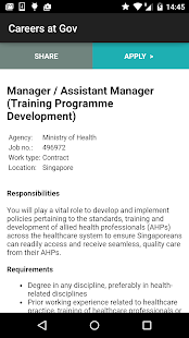 Careers@Gov- screenshot thumbnail