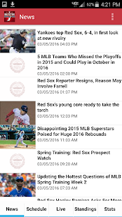Boston Baseball- screenshot thumbnail