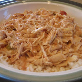 Crockpot Chicken Salsa.