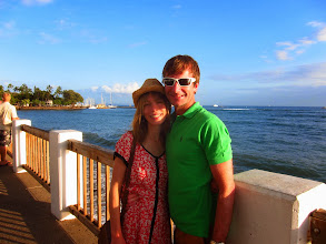 Photo: Us on the front at Lahaina.