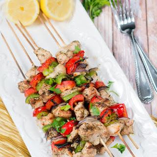 Mediterranean Chricken Kebabs
