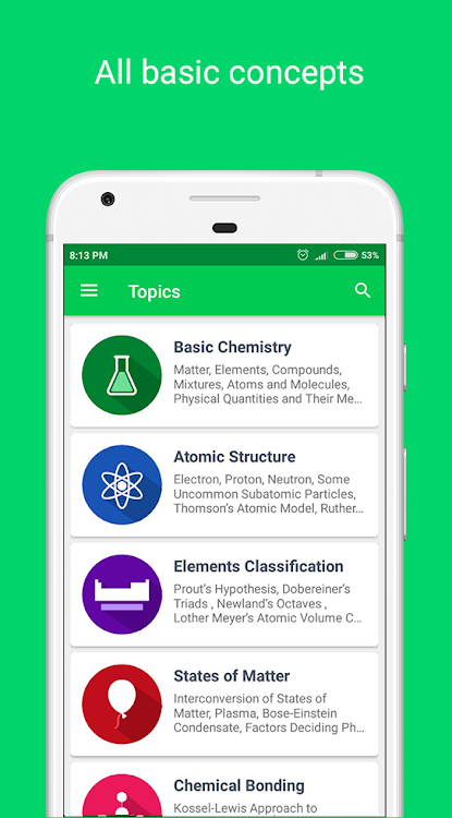 Chemistry Pro 2019 - Notes, Dictionary & Elements – (Android Ứng