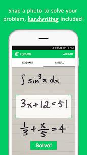 Cymath Apk – Math Problem Solver 1