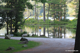 Photo: Boat launch at Lowell Lake State Park by Lene Gary