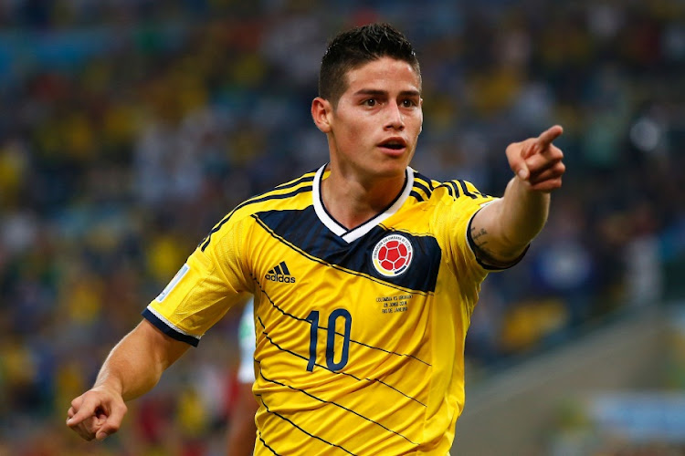 James Rodriguez of Colombia. Picture: GETTY IMAGES/CLIVE ROSE