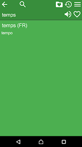 French Italian Dictionary Free screenshot 1