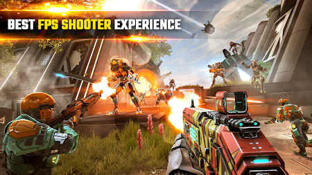 SHADOWGUN LEGENDS - FPS PvP Free Shooting Games APK screenshot thumbnail 1