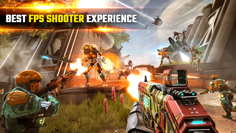 SHADOWGUN LEGENDS - FPS PvP and Coop Shooting Game Screenshot 0