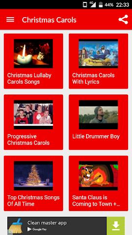 android Weihnachtslieder und Lied Screenshot 4