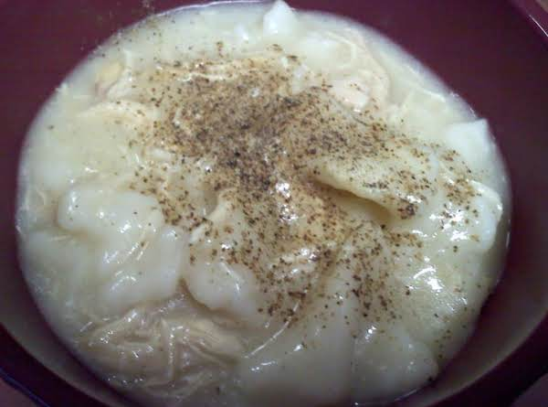 Lisa's Homemade Chicken Dumplings Recipe