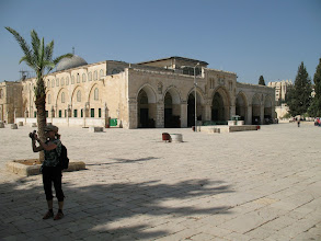 Photo: The Al-Aqsa Mosque on the Temple Mount.