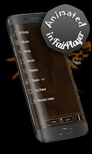 Grim Reaper PowerAmp Skin screenshot 3