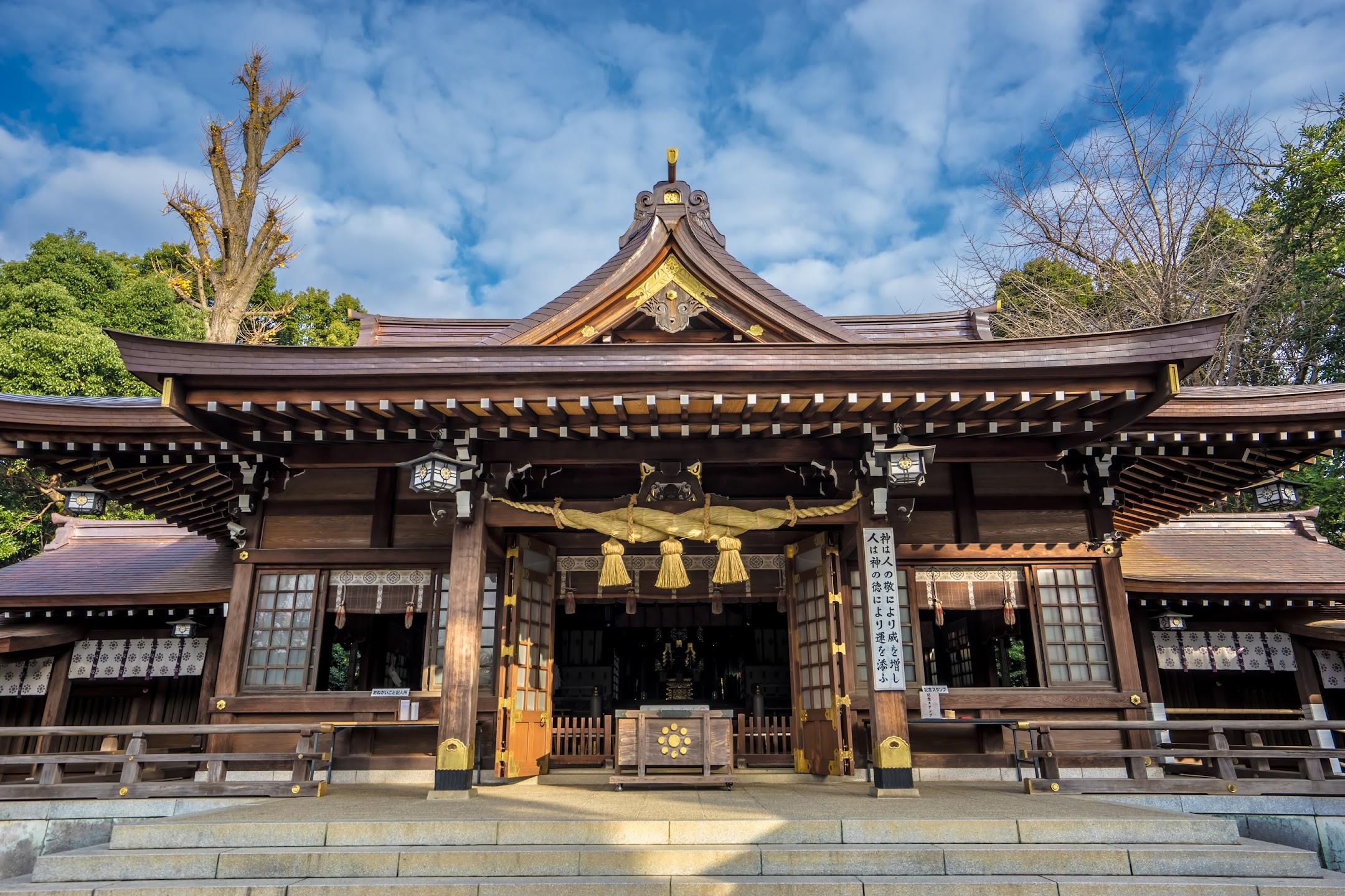 水前寺成趣園 出水神社2