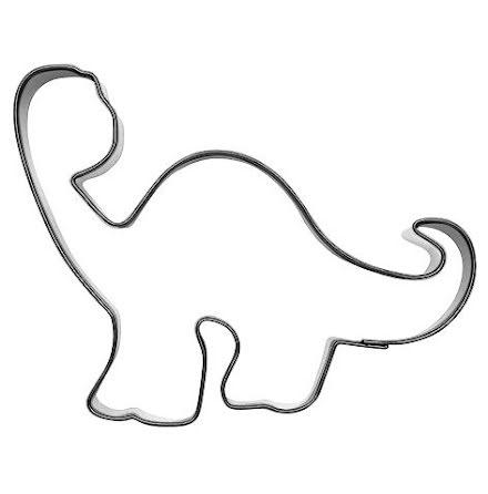 Kakform - Dinosaurie Långhals, 10,5 cm