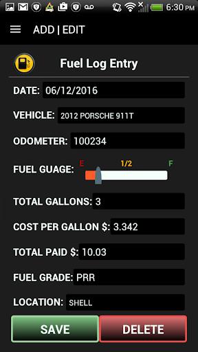 玩免費遊戲APP|下載Vehicle Ledger - Car Manager app不用錢|硬是要APP