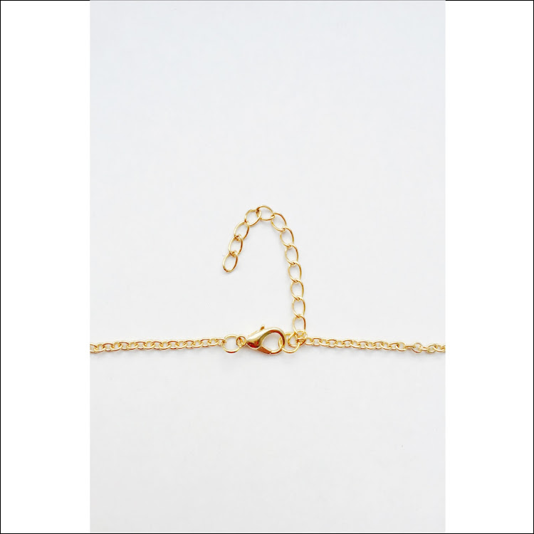 N041 - G. Lux Y-Bar Lariat Necklace