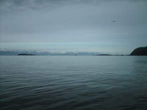 Photo: Lynn Canal and the Chilkat Mountains in the distance.