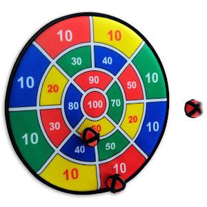 Joc darts cu 3 bile lipicioase, 37 cm