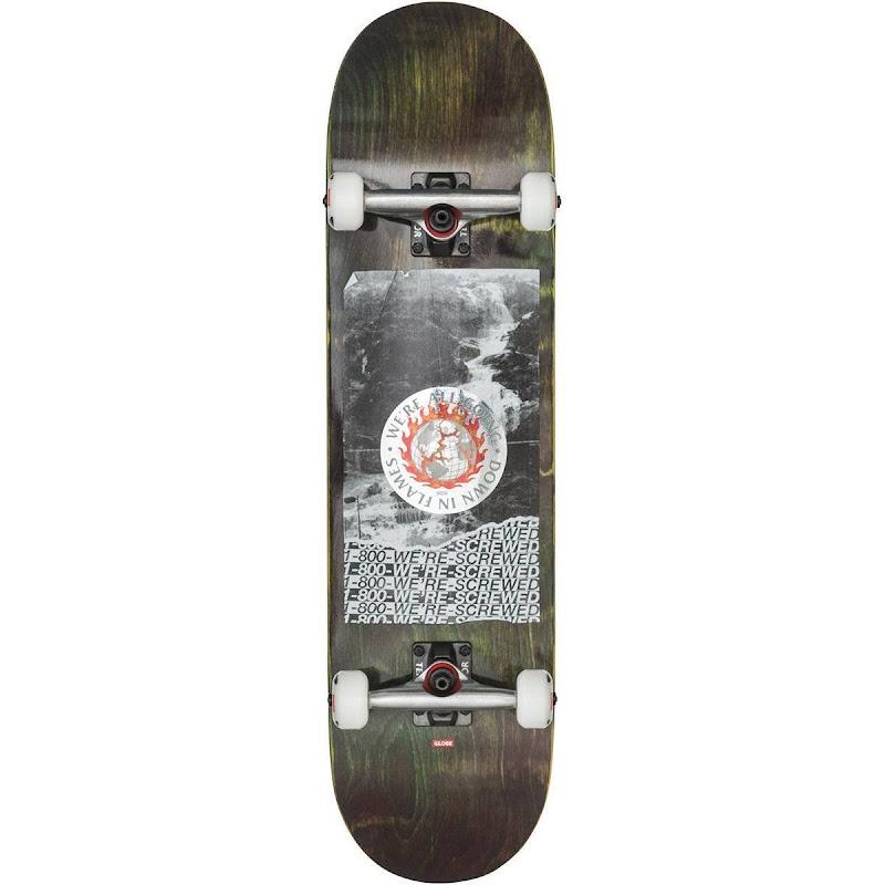 skateboard - Globe G2 Flames Holo/flood 8.375