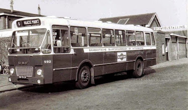 Photo: 1960 BBA bus lijn 5 naar Princenhage