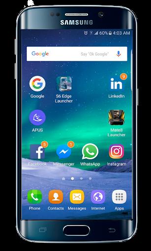 Galaxy S20 Launcher Theme screenshots 1