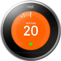 nest thermostat gen 3 front view