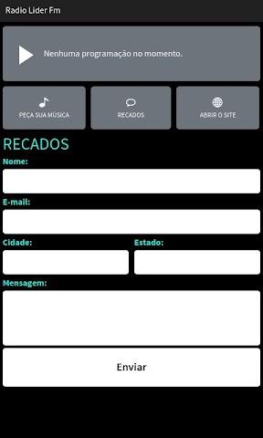 android Radio Lider Fm Screenshot 2