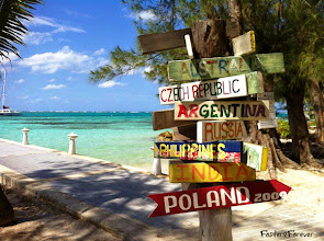 Photo: We stopped in #GrandCayman.