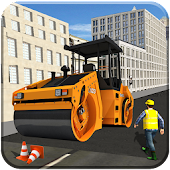 City Road Construction Vehicles Driver Sim 2018