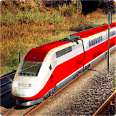 Euro Train Driving Simulation 3D Android APK Download Free By PinPrick Gamers