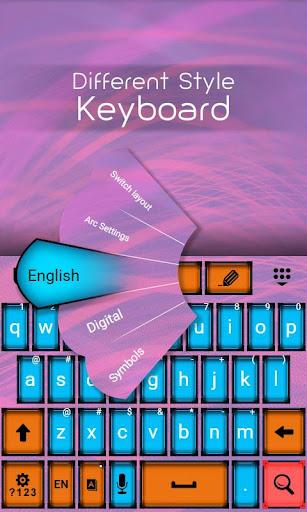 不同風格鍵盤