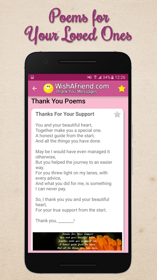 Thank You Messages Letters Notes Share Images Android Apps – Thank You for Inviting Me to Your Party