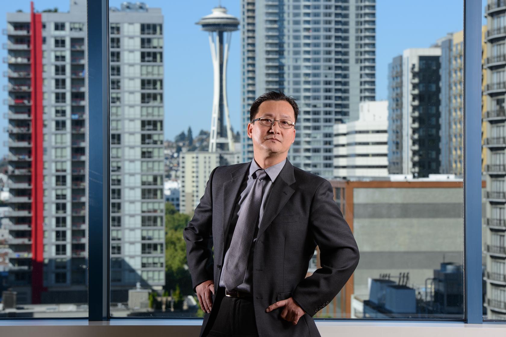 Portrait, Seattle