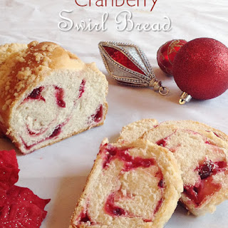 Cranberry Swirl Loaf from Taste of Home Magazine, November 2013