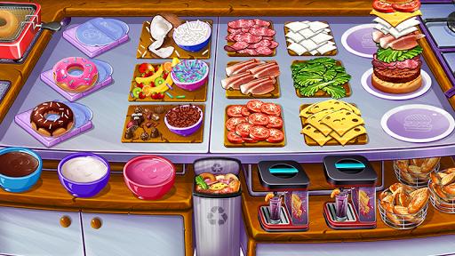 Cooking Urban Food - Fast Restaurant Games 4.4 screenshots 1