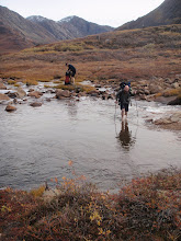 Photo: Greenland - River crossing Day 7