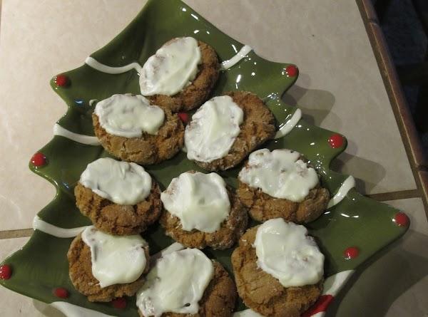Vanilla-dipped Ginger Snaps Recipe