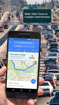 GPS Route Finder - screenshot