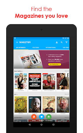 Magzter: All Digital Magazines 6.8.3 screenshot 529985