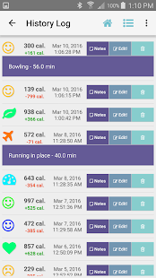 Exercise Calorie Calculator- screenshot thumbnail