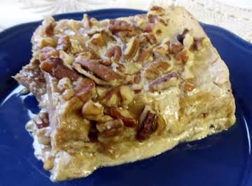 Pecan Delight Baked French Toast