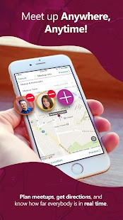 ApproachMe: Locate friends & meet up in real-time- screenshot thumbnail