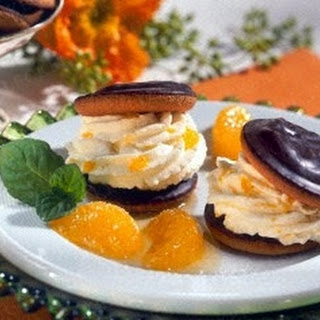 Cake-Burger mit Mandarinen-Creme