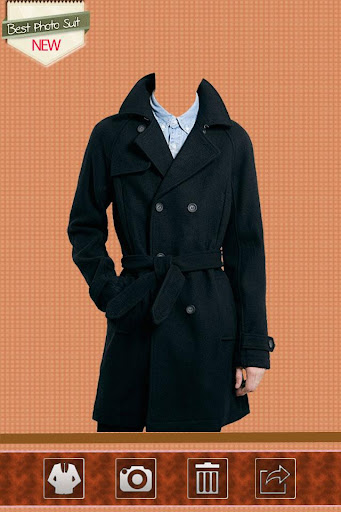 Man Trench Coat Suit Editor