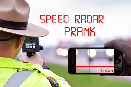 Speed radar prank screenshot 3