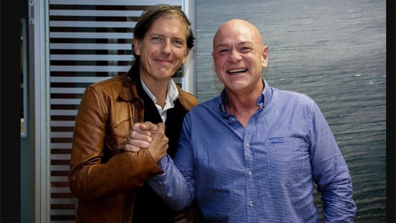 Travelstart CEO Stephan Ekbergh (left) and Club Travel MD Wally Gaynor.