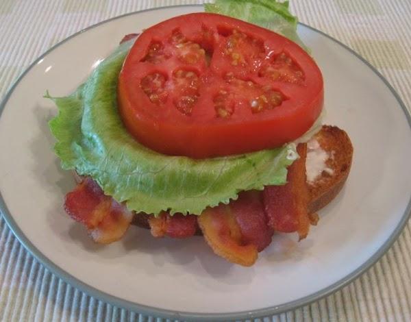 Bacon, Lettuce, And Tomato Sandwich (blt) Recipe