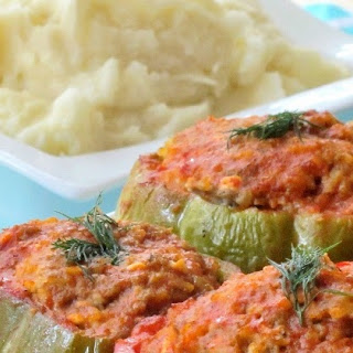 Ground Lamb Stuffed Bell Peppers Recipes