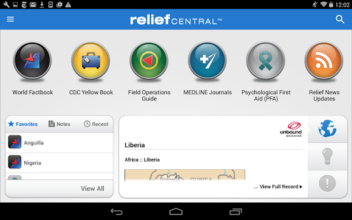 Relief Central screenshot 5